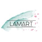 Lamart logo ontwerp
